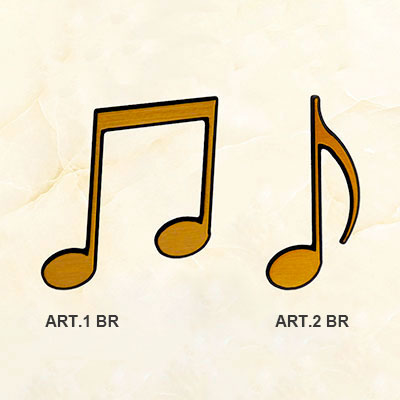 Applicazione articolo NOTE MUSICALI BR