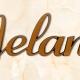 articolo-22-melania-scritta-in-bronzo