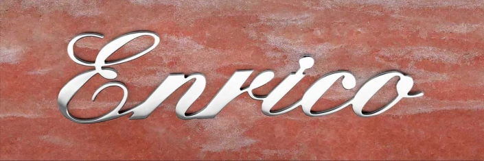 articolo-28-enrico-scritta-in-acciaio-inox
