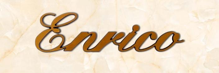 articolo-28-enrico-scritta-in-bronzo